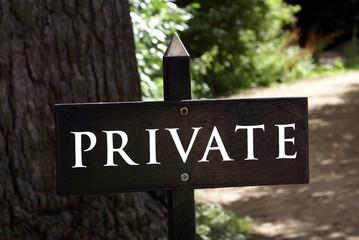 sign. private