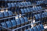 Stadium or cinema seats poster