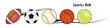 pelotas en vector