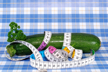 fresh vegetables, zucchini, diet
