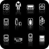 Gadget Icon set poster