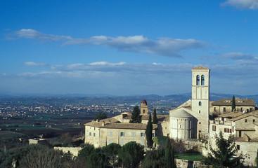 Italia Assisi Veduta