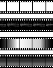 Vector illustration of filmstrips