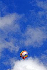 Über Land - Heissluftballon