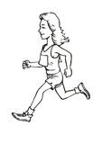 marathon woman poster