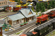 Model Train Station - 4103954