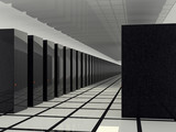 computer servers poster