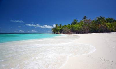 Beautiful scenery at the beach