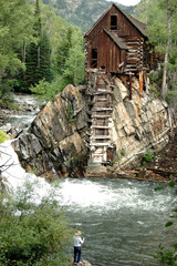 Fishing The Crystal Mill