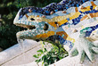 lizard fountain, barcelona - 4108548