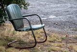 Chair in Rain