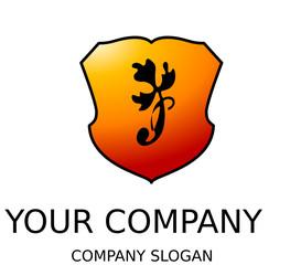 logo mit pflanze