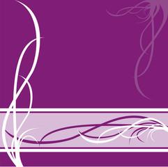 pattern  on violet background