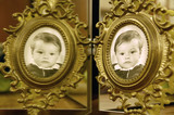 twins in the mirror
