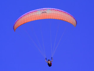 Orange Paraglider