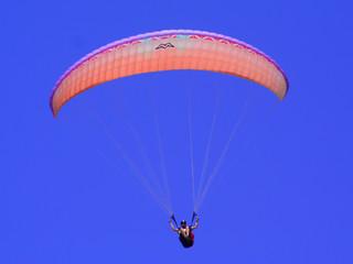 Orange Paraglider