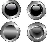4 Molten web buttons poster