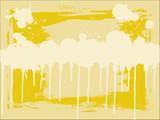 Yellow Copyspace poster