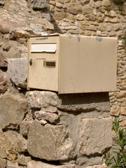 Mailbox brown