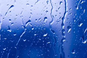 Abstraction with water drops