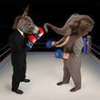 Republican vs. Democrat