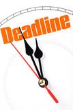 concept of deadline poster