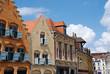 Leinwanddruck Bild - Historical Buildings in the city of Lille (france)
