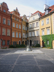 Yard in old warsaw