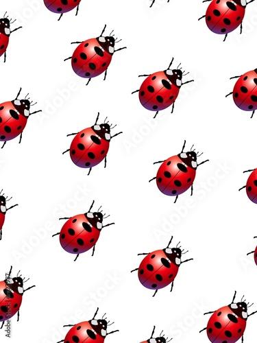 Aluminium Lieveheersbeestjes Ladybirds