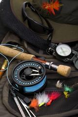 Portrait - fishing equipment
