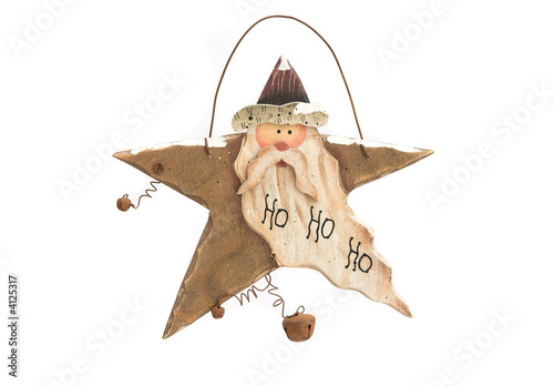 Rustic wooden Christmas decoration