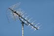 Leinwanddruck Bild - TV aerial