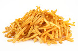 heap of French fries poster