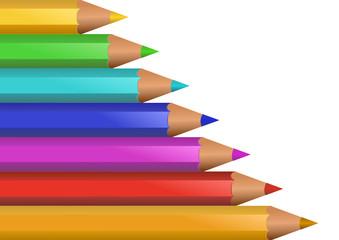 Crayons arc-en-ciel