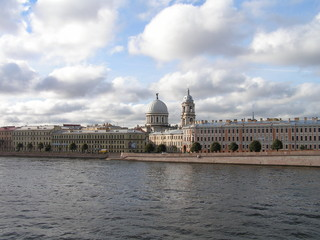 Cathedral and Neva