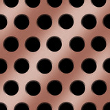 Copper Holes Background