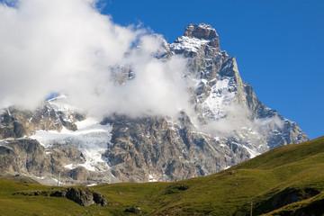 Matterhorn with cloud