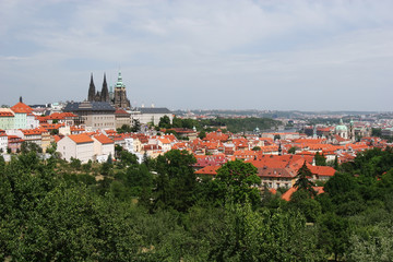 St Vitus, Prague Castle and Hradcany District