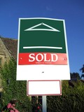 sign. sold. subject to contract poster