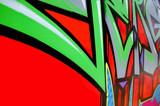 Graffiti swoosh poster