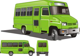 Vector City Mini-Bus