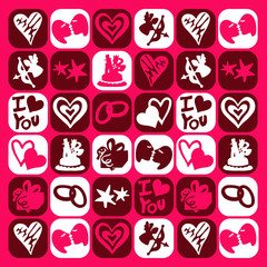 love motif pictos
