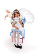 Le lapin et la fillette