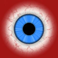 CLoseup illustration of human eye