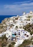 Fototapete Santorini - Griechenland - Städte und Kultur