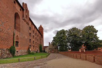 Old Teutonic castle in Gniew, Poland