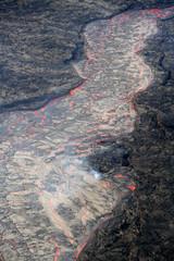 coulée de lave volcan hawaii