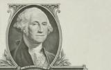 Portrait of the president Washington poster