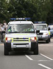 Police convoy