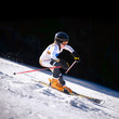 Downhill Skiier